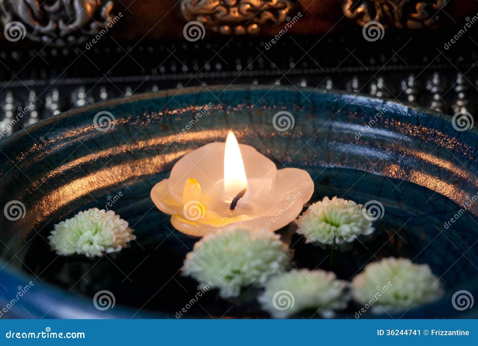 Floating Candle Asia - Stock Photo Stock Image - Image: 36244741