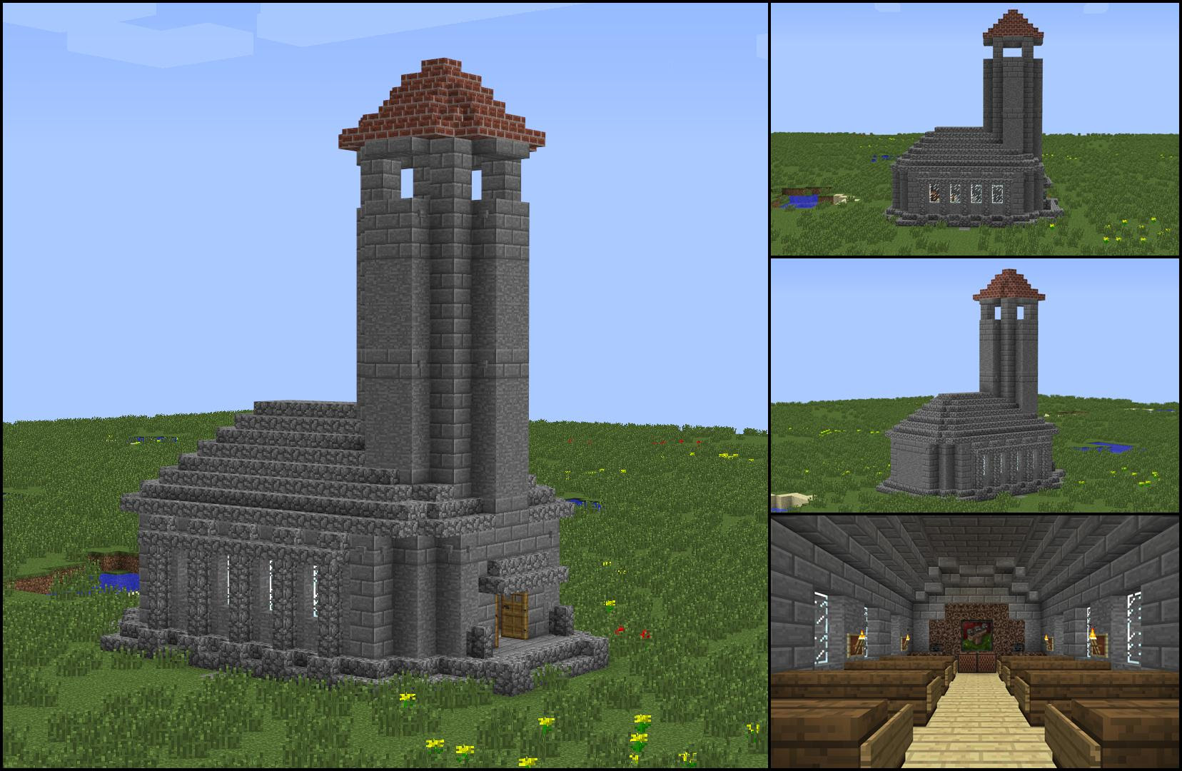 My Growing Town Needed A Chapel Minecraft