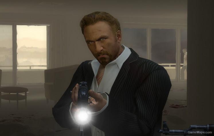 Pinstripe Suit Nick Body Left  Gamemaps