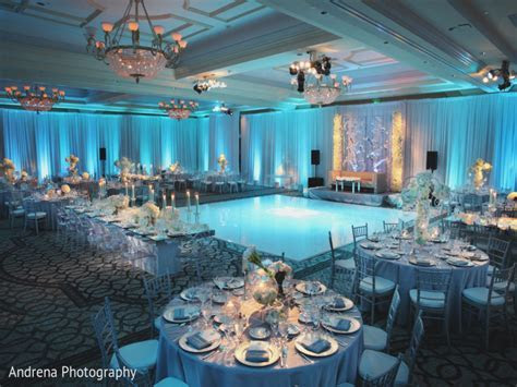 Baby Blue And Silver Wedding Centerpieces: Alternating