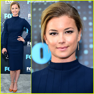 Emily VanCamp Shows Off Engagement Ring at Fox Upfronts!