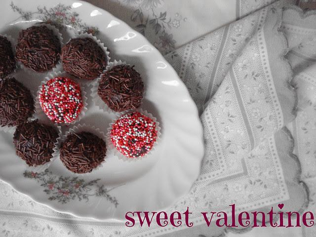 chocolate pb cream cheese truffles