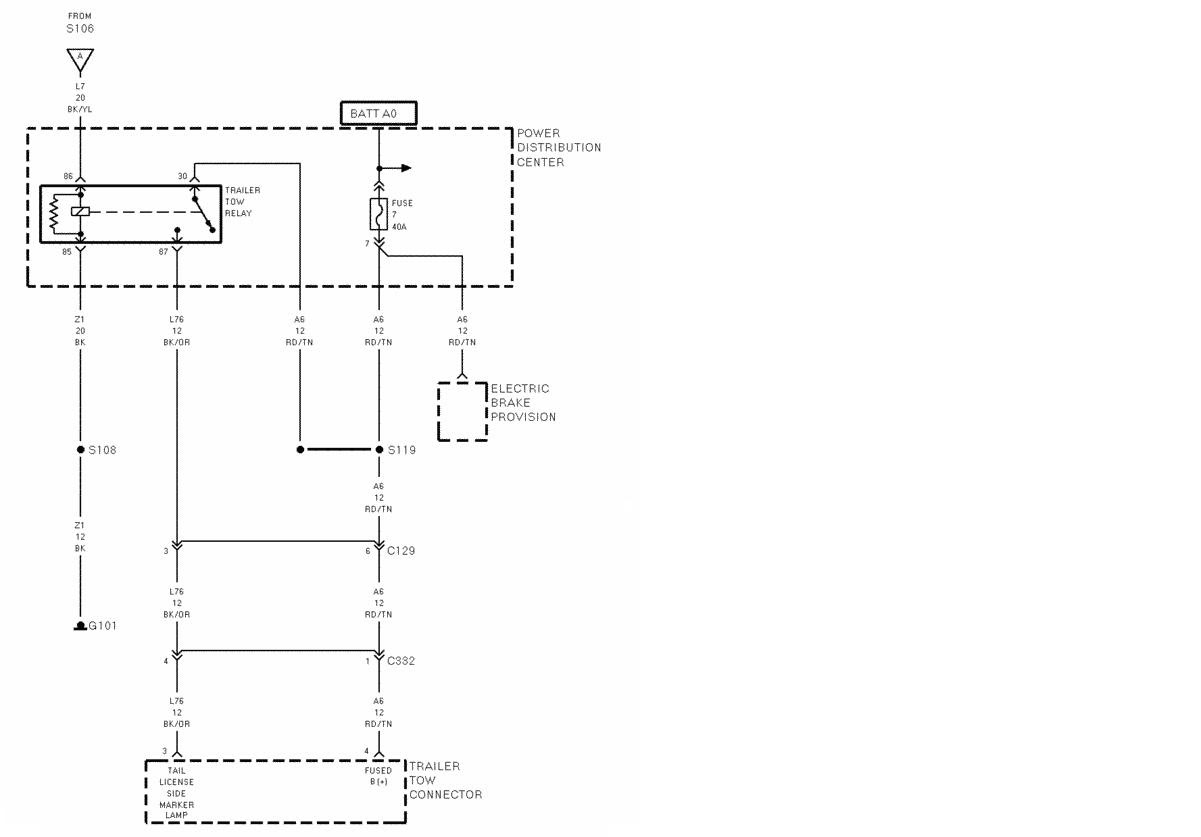 27e4a 1995 Dodge Ram Trailer Wiring Diagram Wiring Library