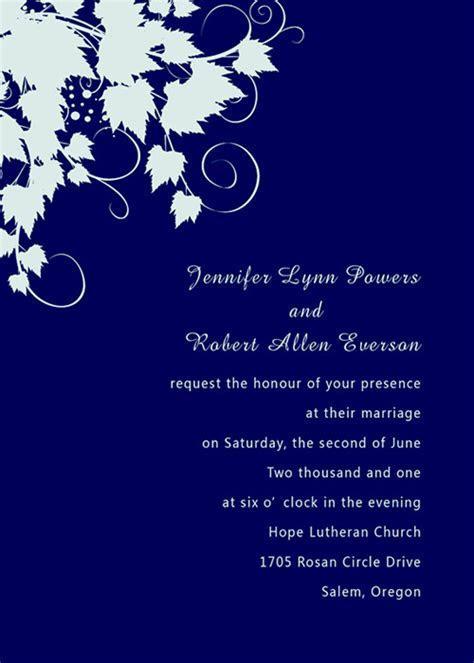 Wedding invitation background designs royal blue 13