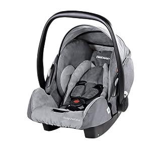 RECARO 5514.21112.66 - Young Profi plus - Autokindersitz/Babyschale Gruppe 0/0+ bis 13 kg/ ab der Geburt bis ca. 15 Monate, Farbe Bellini Aspahlt/Grey