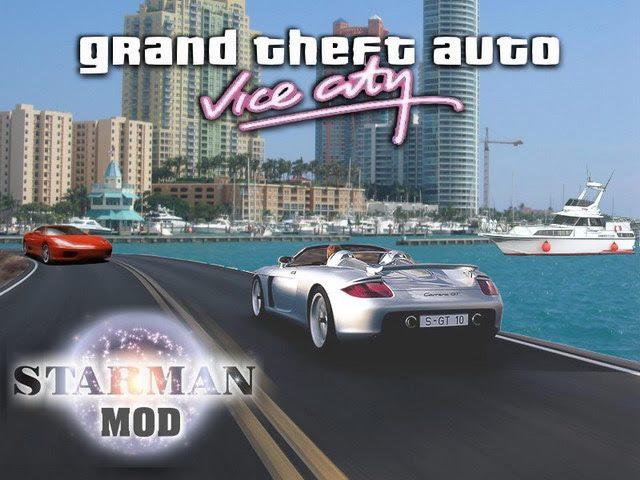 Loading screen for the GTA VICE CITY STARMANMOD