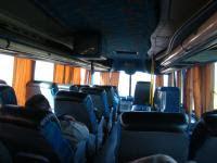 On the Chevallier bus, near San Rafael