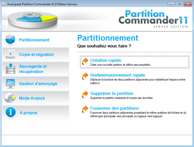 Avanquest Partition Commander 11