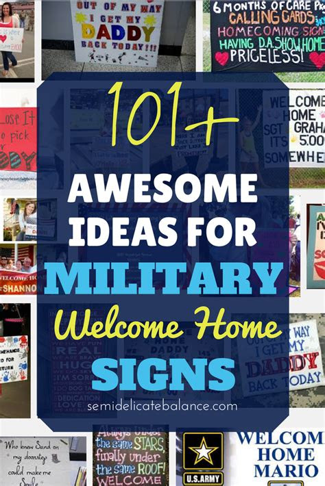 awesome ideas  military  home signs