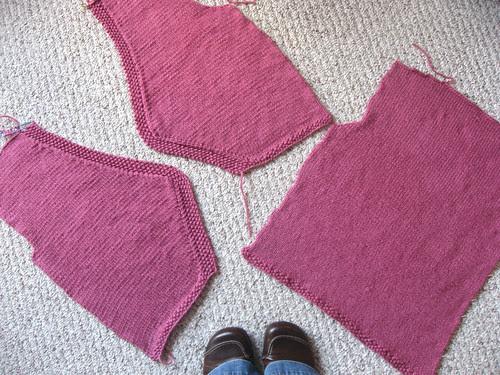 pieces of vest