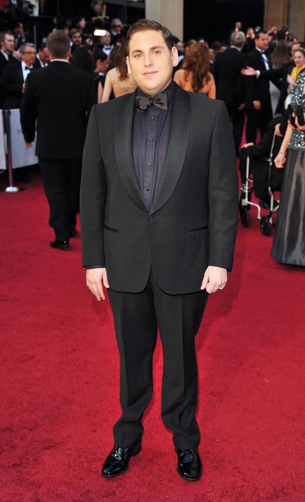 Jonah Hill Oscar 2012 Alfombra Roja