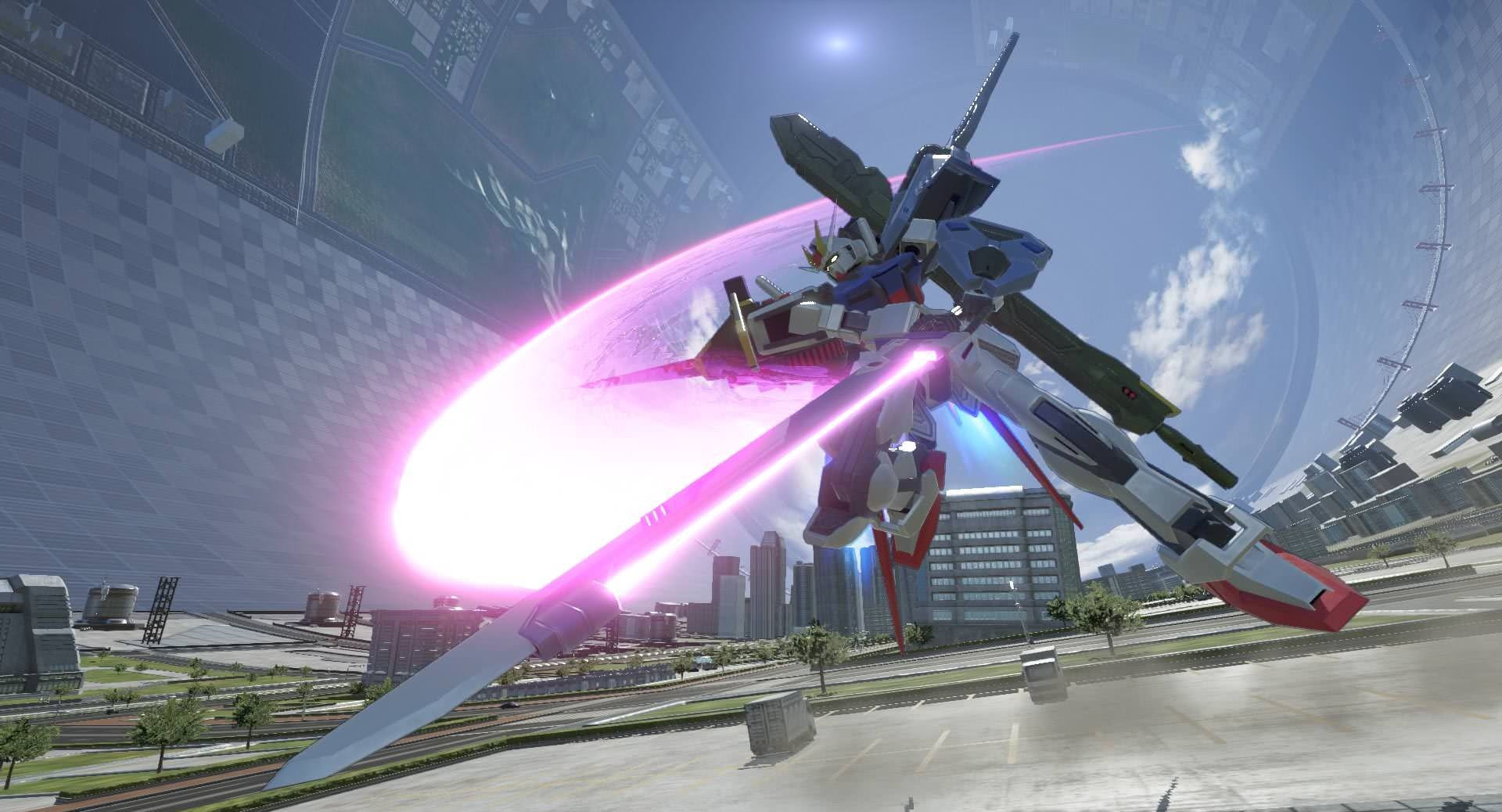 Gundam Versus launches Perfect Strike, Gusion Rebake and more as DLC screenshot