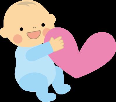 赤ちゃんのイラストbaby無料イラストフリー素材