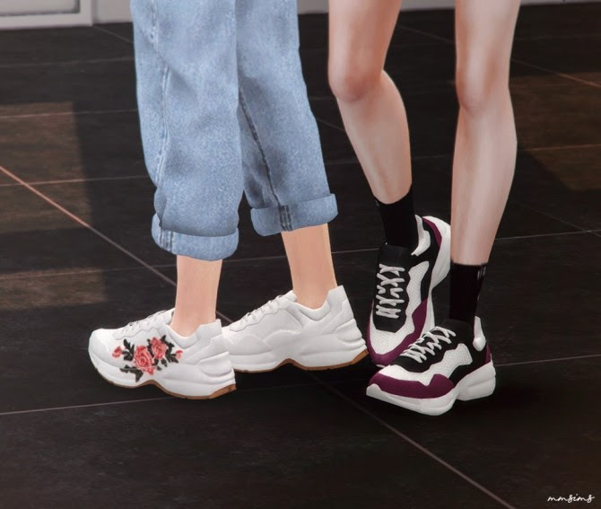 Rhyton sneakers at MMSIMS image 1855 670x567 Sims 4 Updates