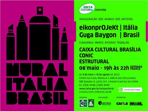 eikonprOJeKt goes to Mural Italia Brasil by OMINO71