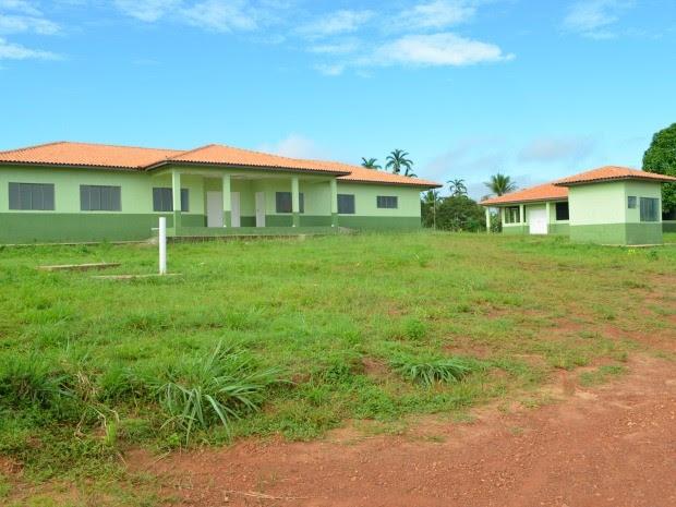 Prédio do Centro de Controle de Zoonoses ainda não foi inaugurado (Foto: Magda Oliveira/G1)