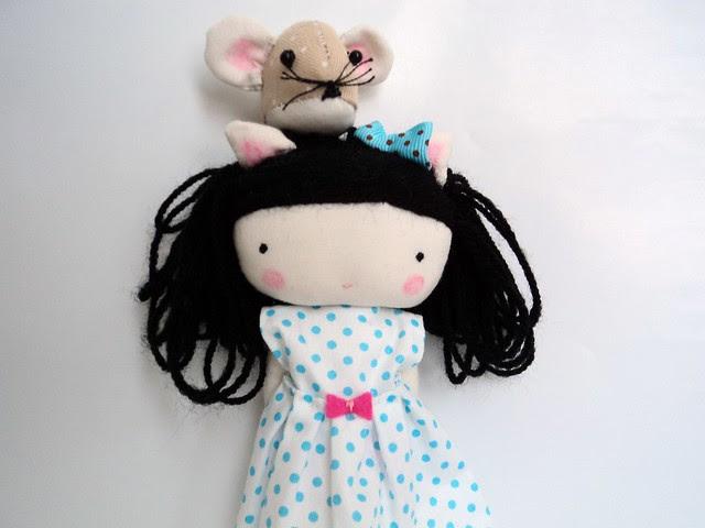 elsita and her pet