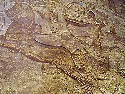 Ramses II on chariot