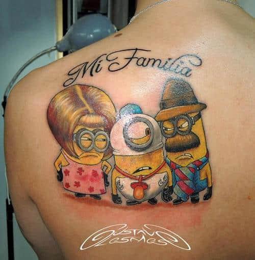 30 Tatuajes De Minions Que Te Sorprenderá A Lo Que Llega El