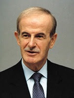 Il presidente siriano Hafiz al-Assad