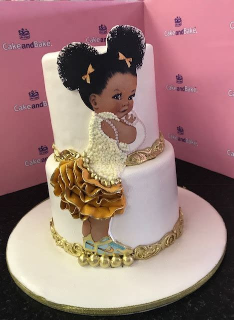 Afro Puff 2 tier ? Cake And Bake