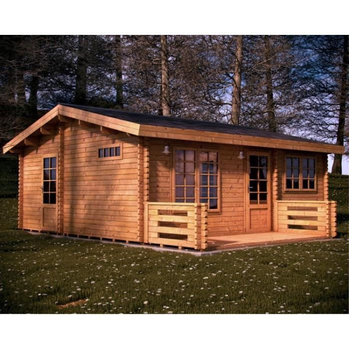 Chalet bois habitable mode blogs for Constructeur chalet bois habitable