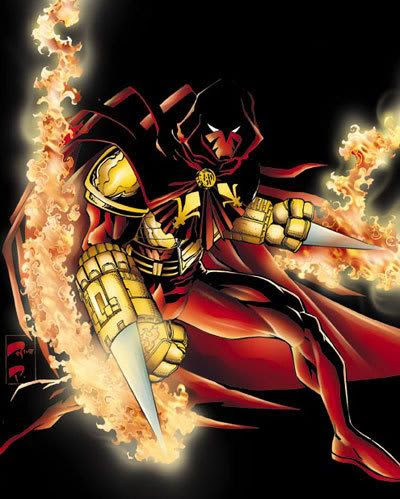 Azrael...also known as the Angel of Death.