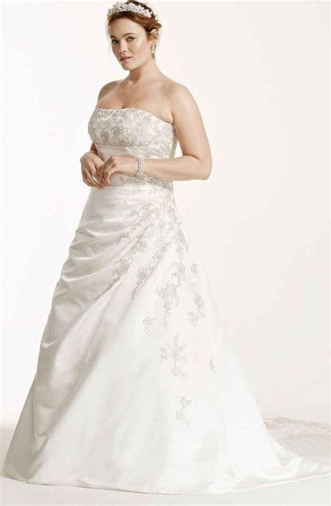 Wedding Dresses for Second Marriage Over 40 Plus Size