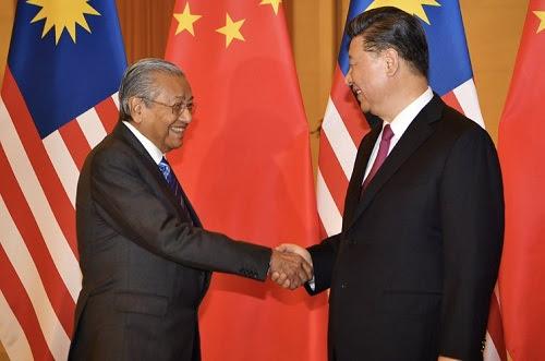 Hubungan Malaysia - China berkembang di era PH