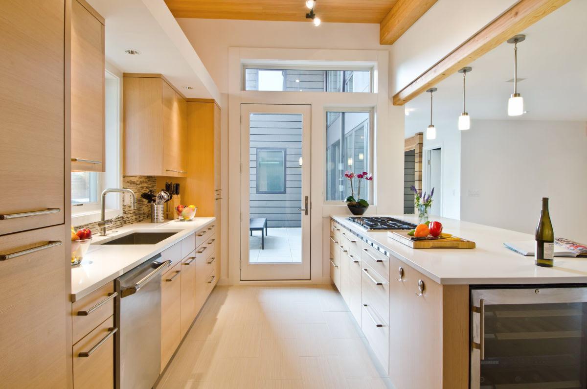Home Architec Ideas Narrow Kitchen Diner Ideas