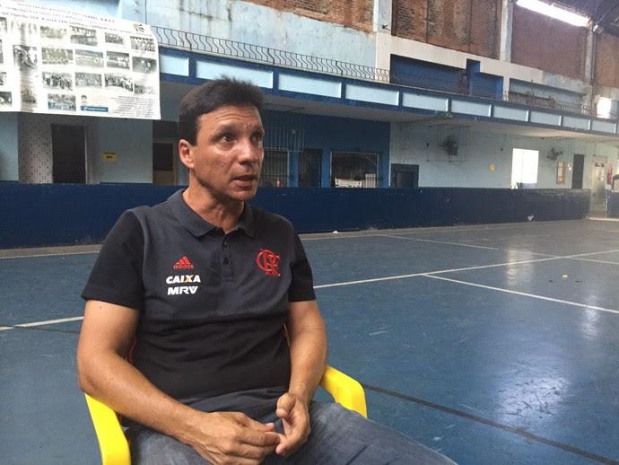 Zé Ricardo estuda os adversários do Flamengo na Libertadores (Foto: Raphael Zarko)