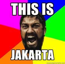 Romantika hidup di Jakarta !