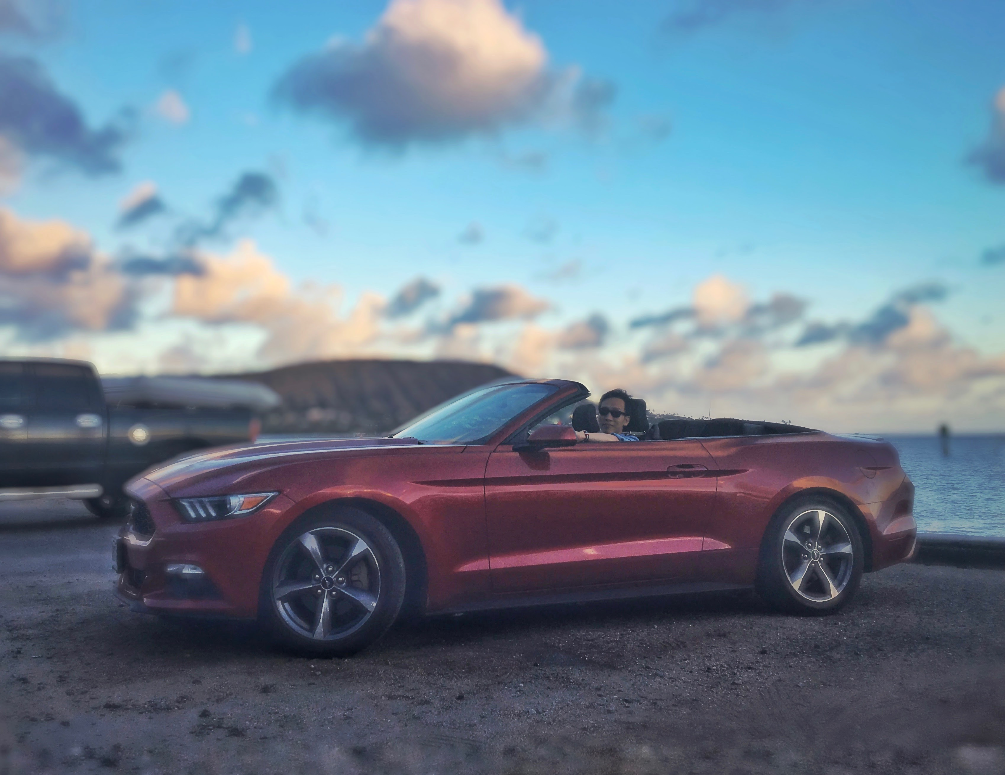 租的 Mustang
