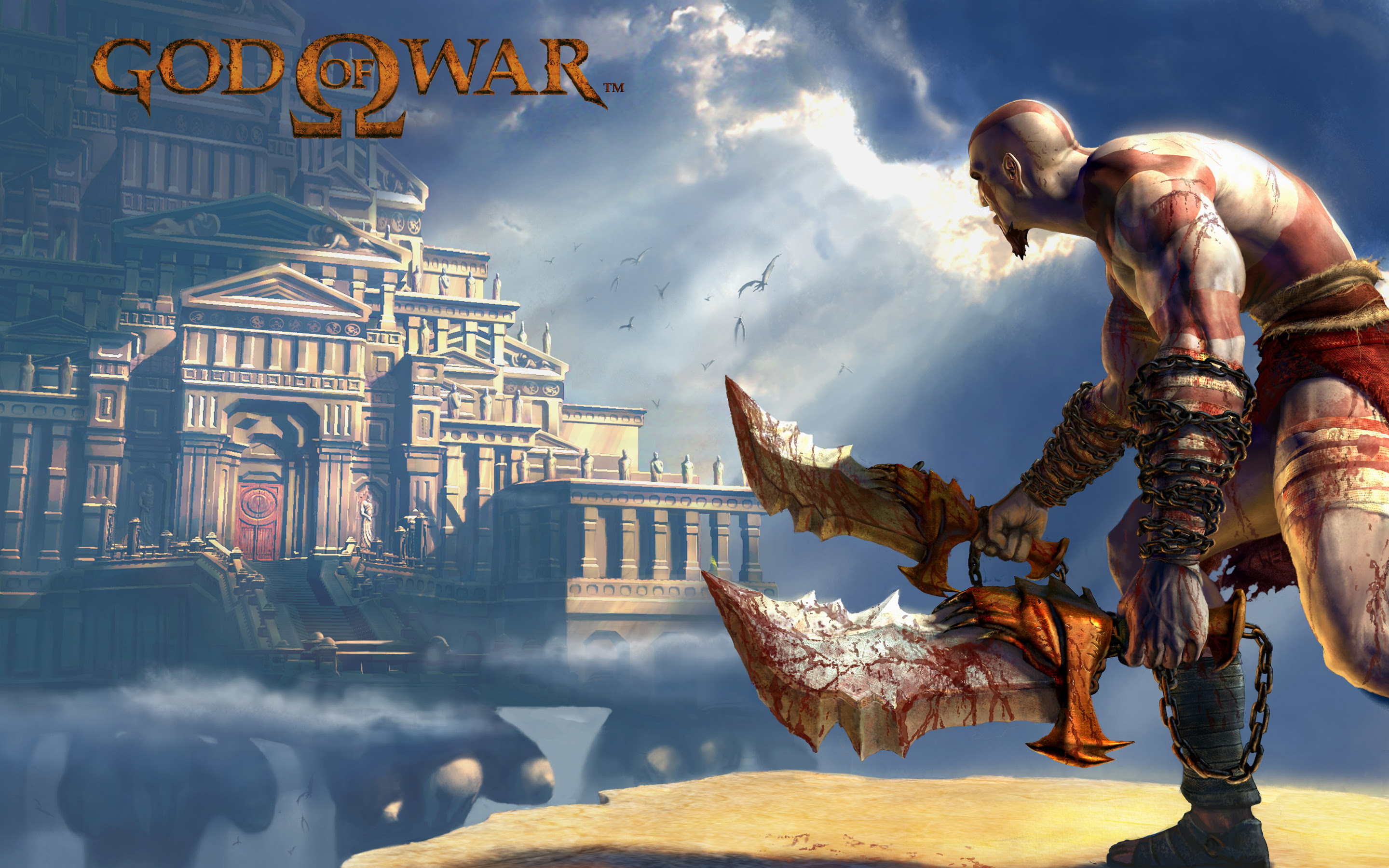 God Of War 2 Game Wallpapers Wallpapers Hd
