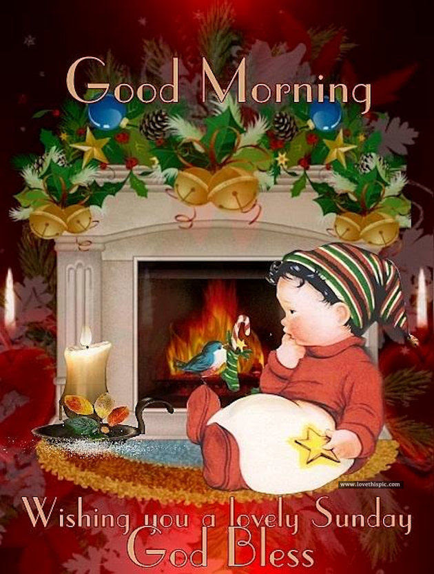 Good Morning Wishing You A Lovely Sunday God Bless Pictures Photos
