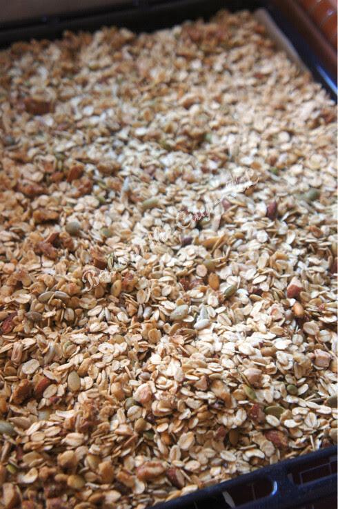 Homemade Granola V2.0 - baking