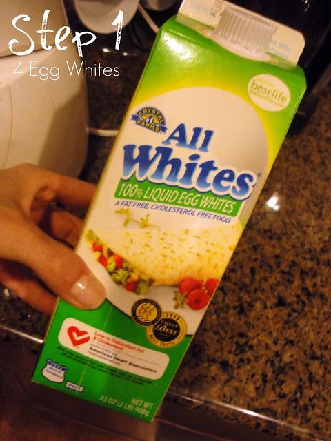 Step 1 4 Egg Whites