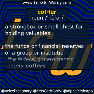 coffer 06/14/2014 GFX Definition of the Day