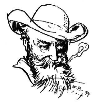 Wilhelm Busch. Quelle: Wikimedia Commons