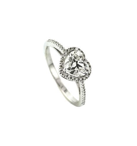 Isaac Jewelers Designs Custom Heart Shaped Engagement Ring