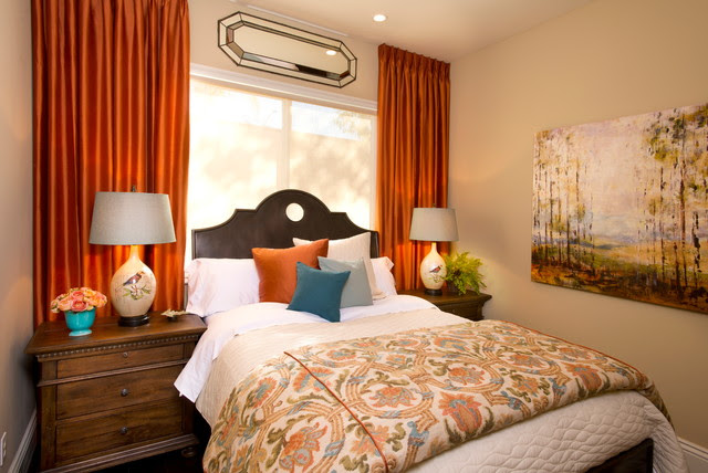 Robeson Design Guest Bedroom Ideas  Traditional  Bedroom  san diego  by Robeson Design