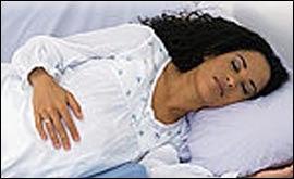 Sueño de la embarazada  dormir bien, dormir mal