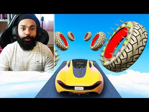CHAPATI LOST THE 1000% IMPOSSIBLE TYRE RACE WITH LOGGY   GTA 5