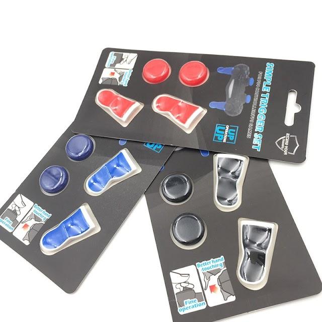 Goede Kopen Voor PS4 Met Trigger Extenders Thumb Grip FPS Playstation 4 Analoge L2 R2 Extended Knop Goedkoop