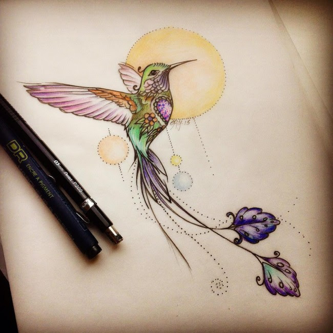 80 Best Watercolor Hummingbird Tattoo Meaning And Designs 2019
