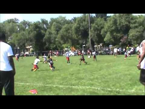 Harrisburg NFL Youth Flag Football Leagues 68 year old 1st half highlights  YouTube