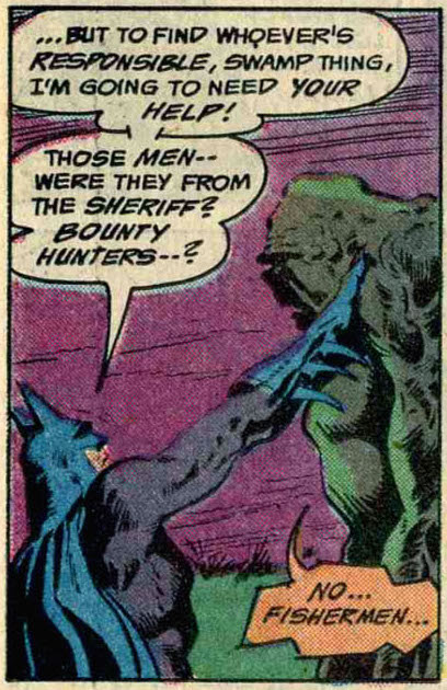 Batman and the Swamp Thing, cooperating again
