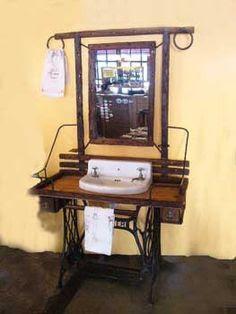 necesito ideas para pie de maquina de coser antigua   Hacer bricolaje es facilisimo.com