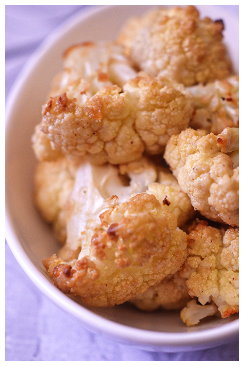 roasted cauliflower with tahini© by Haalo