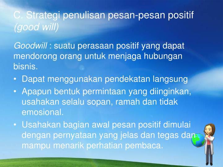 ppt penulisan pesan bisnis powerpoint presentation id 2140320